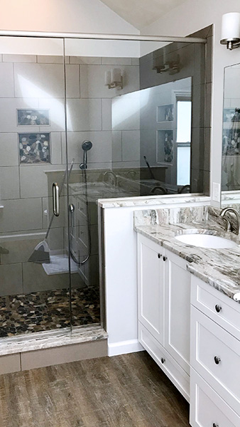 Photo Gallery Of Bathroom Remodeling Projects In The Chesapeake - Chesapeake bathroom remodeling