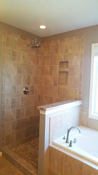 Photo gallery of bathroom remodeling projects in the for Bathroom remodel virginia beach