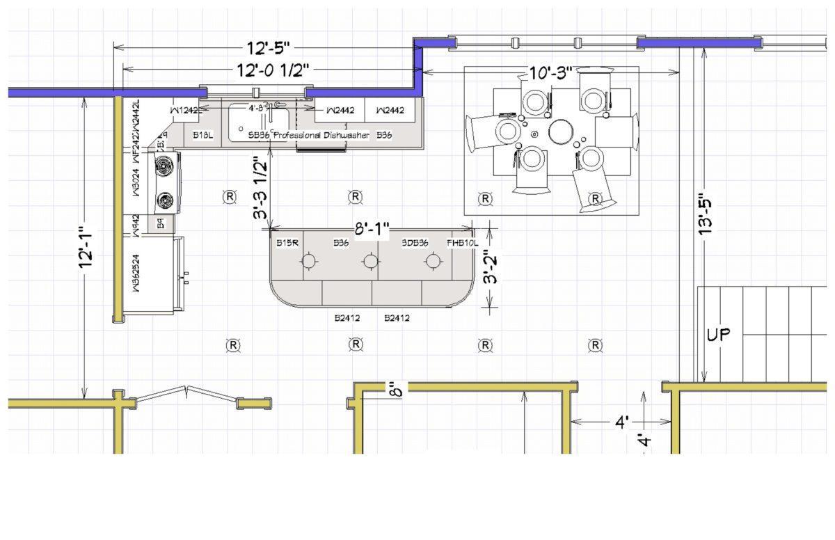 Kitchen Plan - Drawing