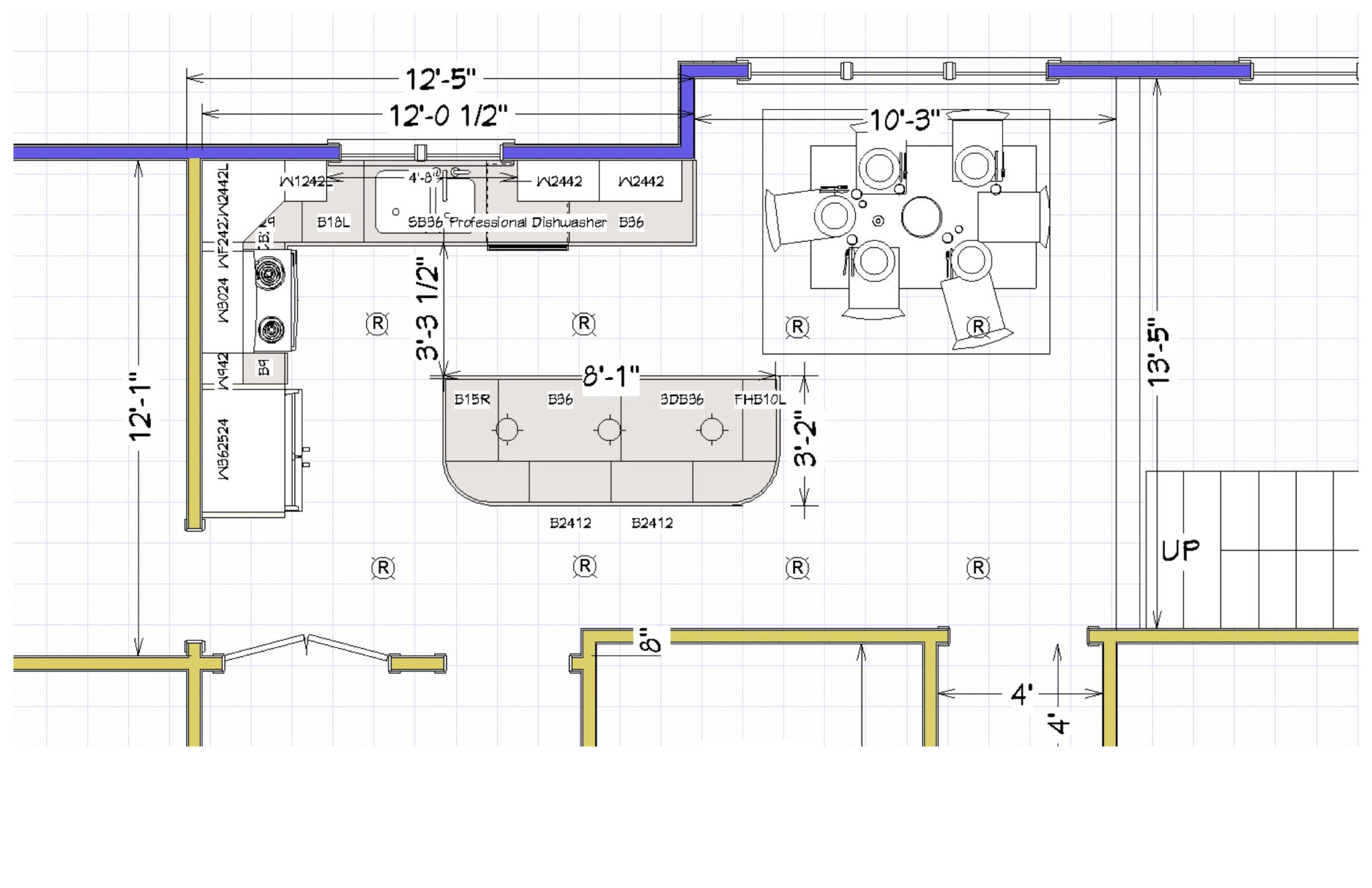 Kitchen Plan - Drawing