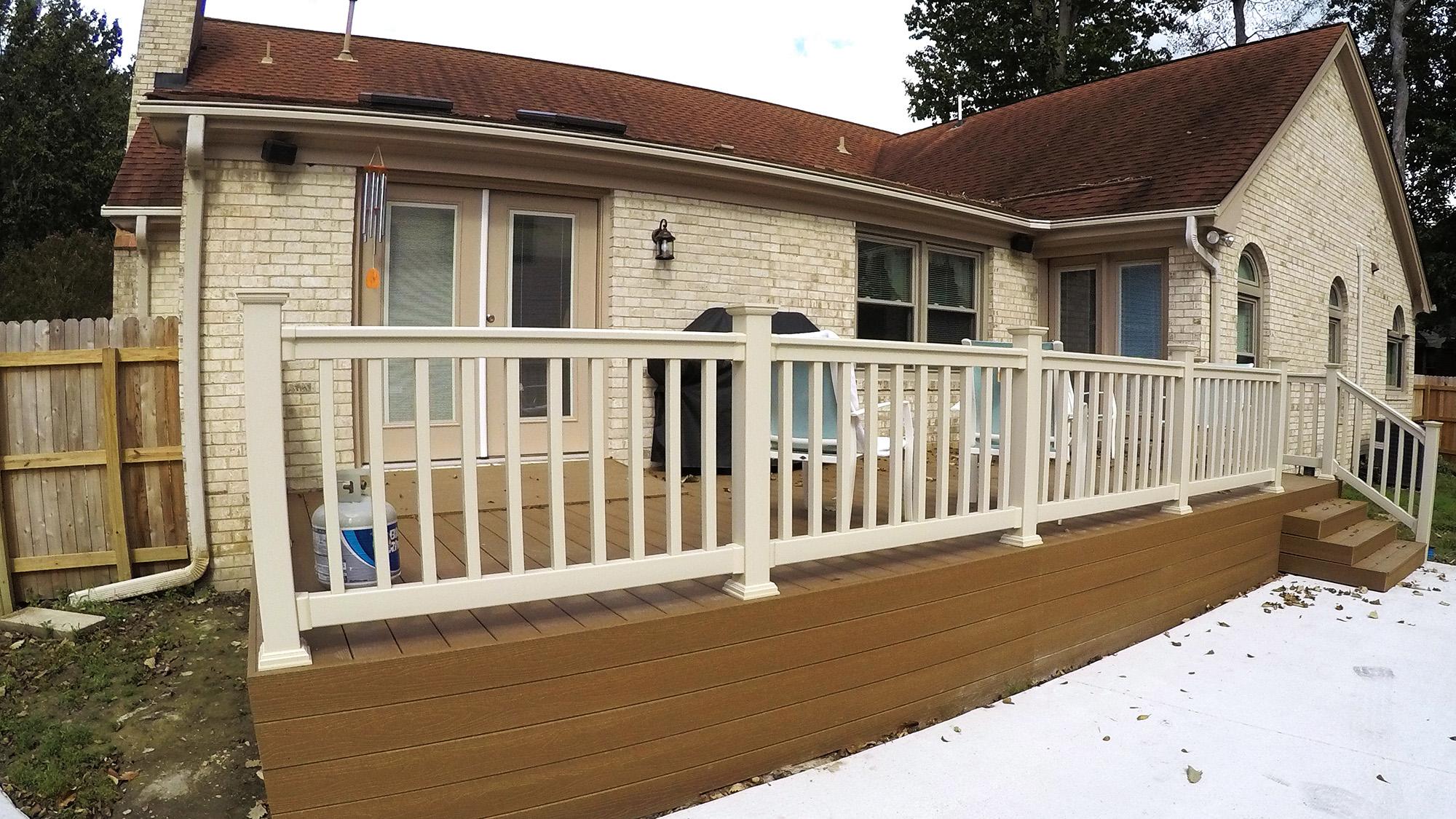 Composite Deck Project After