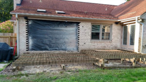 Deck Project Before