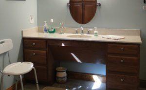 roll under sink vanity